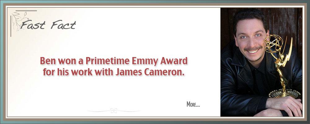 Film Composer Ben Zarai won a Primetime Emmy Award for his work with James Cameron